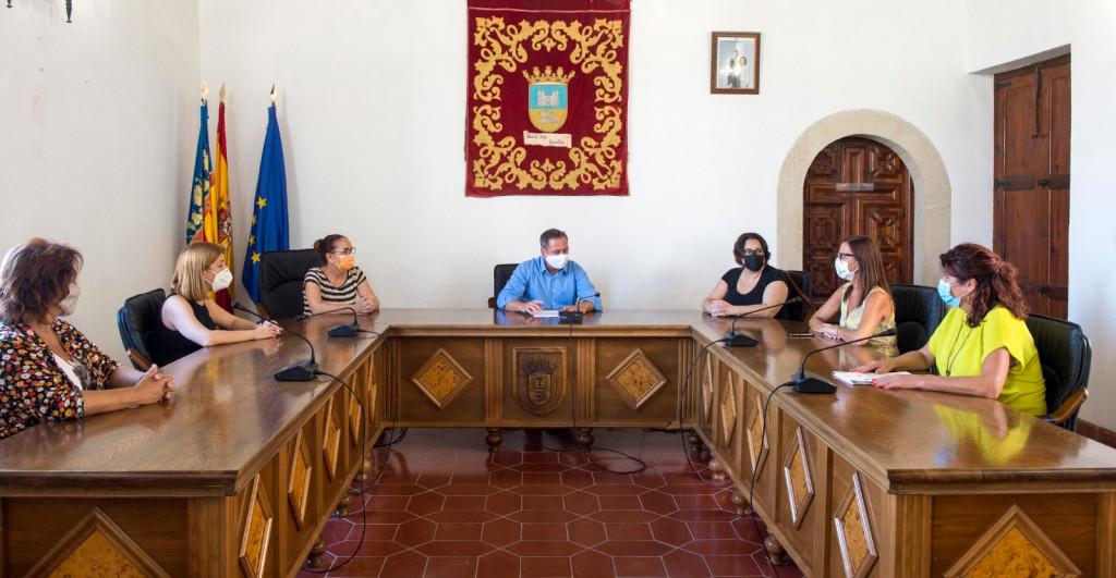 Albalat dels Sorells reunio Diputacio Ajuntament