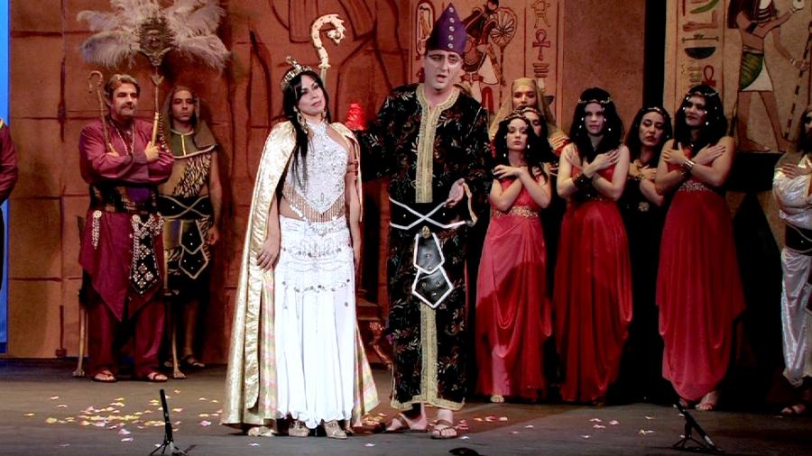 Compañía Teatral Clásicos de la Lírica con el estreno nacional de una nueva producción de zarzuela: La Corte de Faraón