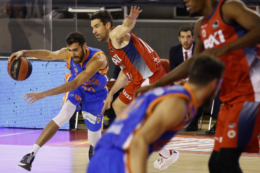Valencia Basket suma la segunda con una trabajada victoria en Manresa (74-82)
