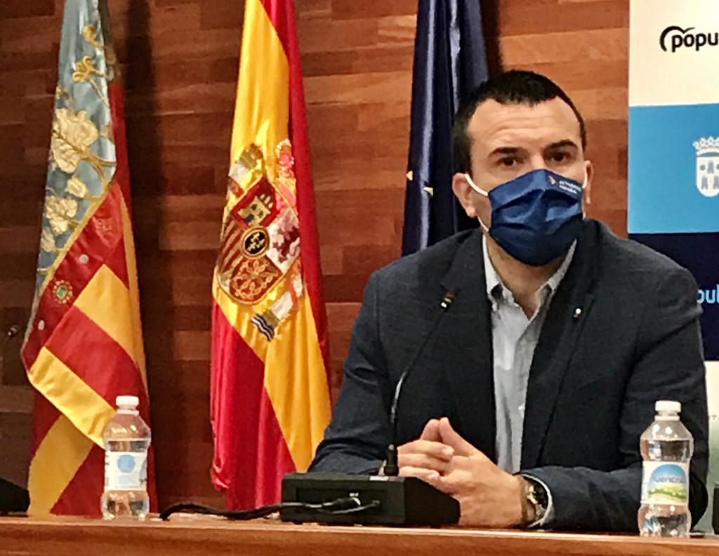 <h2>Vicente Mompó, presidente del PP de la provincia de Valencia</h2>