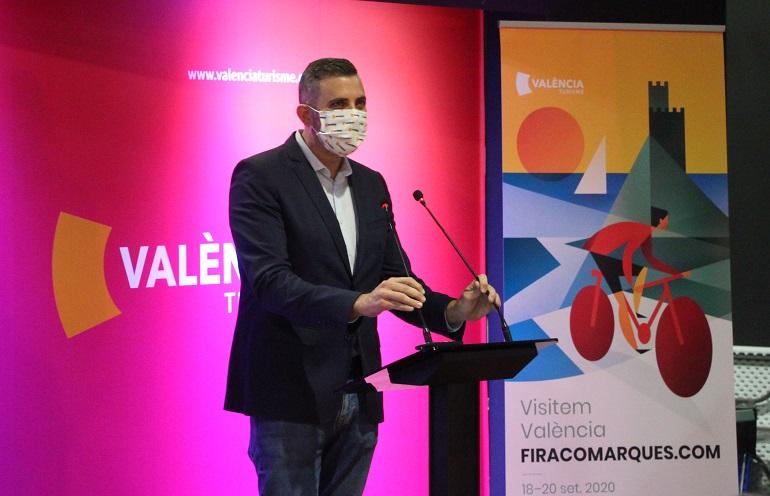 Jordi Mayor, diputat de Turisme. Foto: Javier Furió