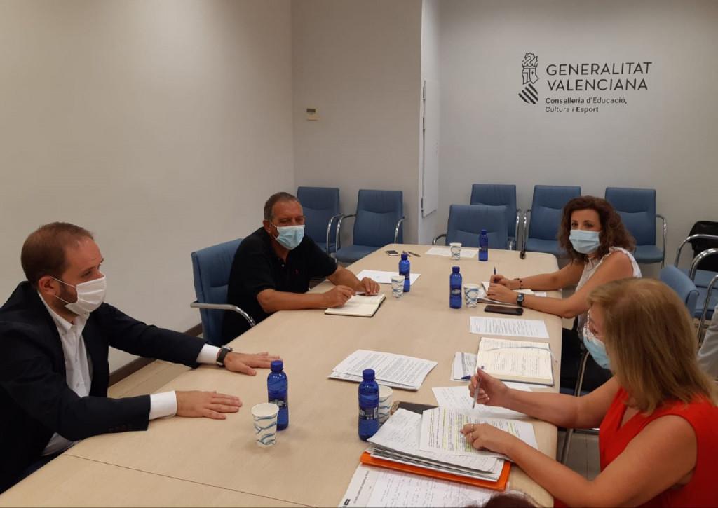 reunion ayuntamiento conselleria inicio curso