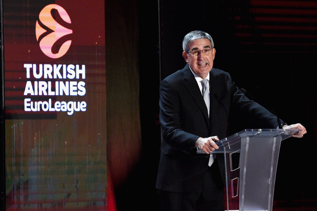 Jordi Bertomeu, Ejecutivo de Euroliga
