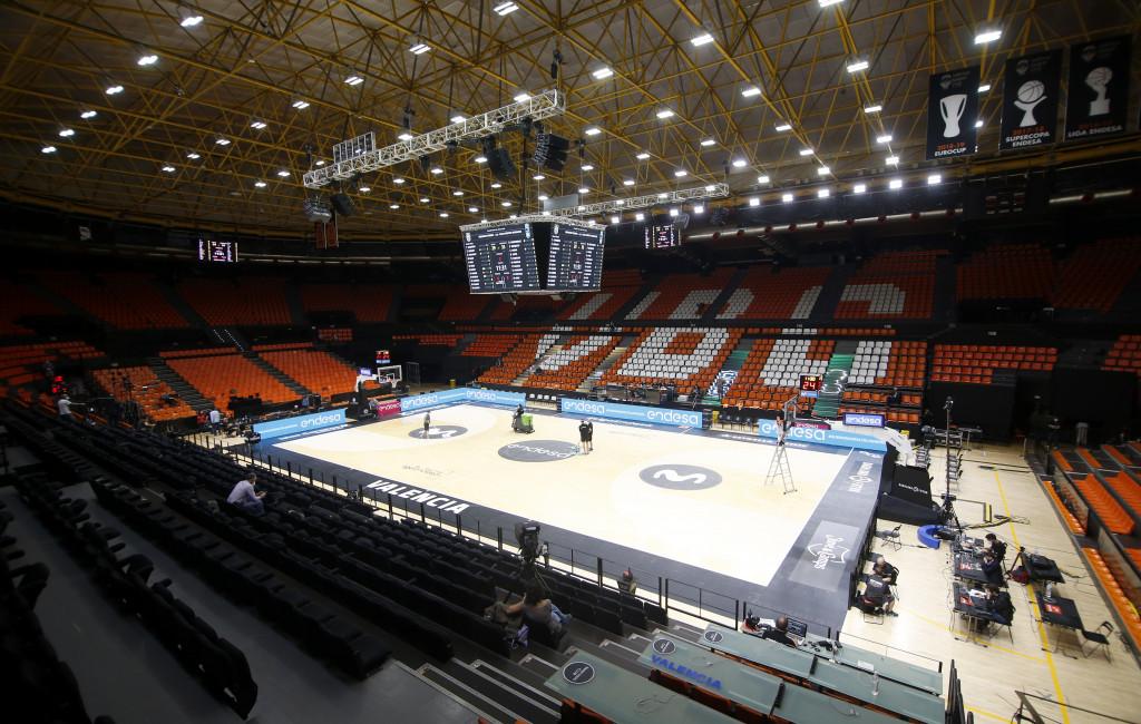 La Fonteta vacia, sede de la ventana FIBA