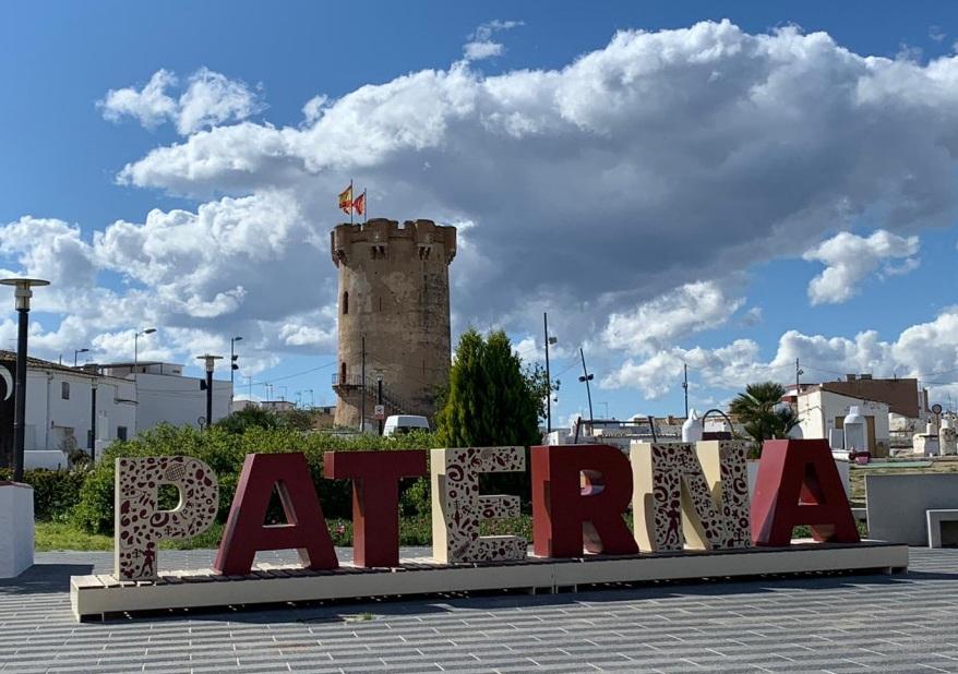 Paterna logo letras Torre