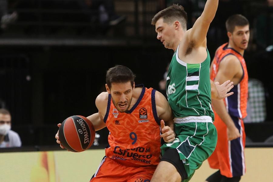 Sólido triunfo de Valencia Basket en la pista del Zalgiris Kaunas (82-94)