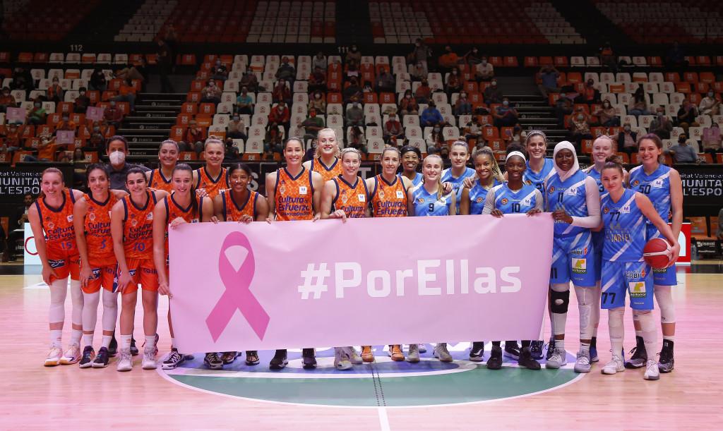 Valencia Basket y Bembriba hermanadas contra cáncer de mama