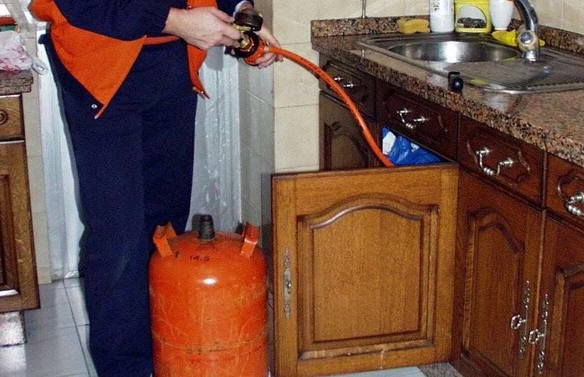 falsos revisores del gas