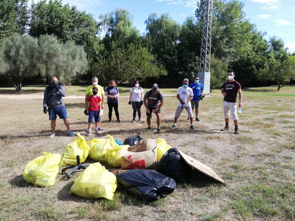 limpieza río Turia