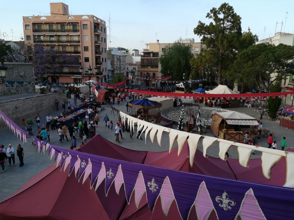 Mercado Renacentista Les Sitges, de Burjassot