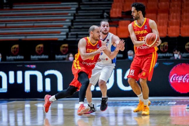 95-85 España abre la 'ventana' con derrota ante Israel