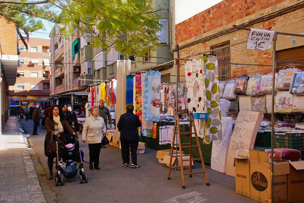mercado ambulante Alfafar