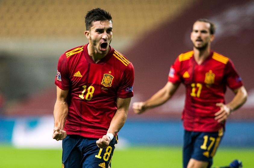 Ferran Torres gol selección española
