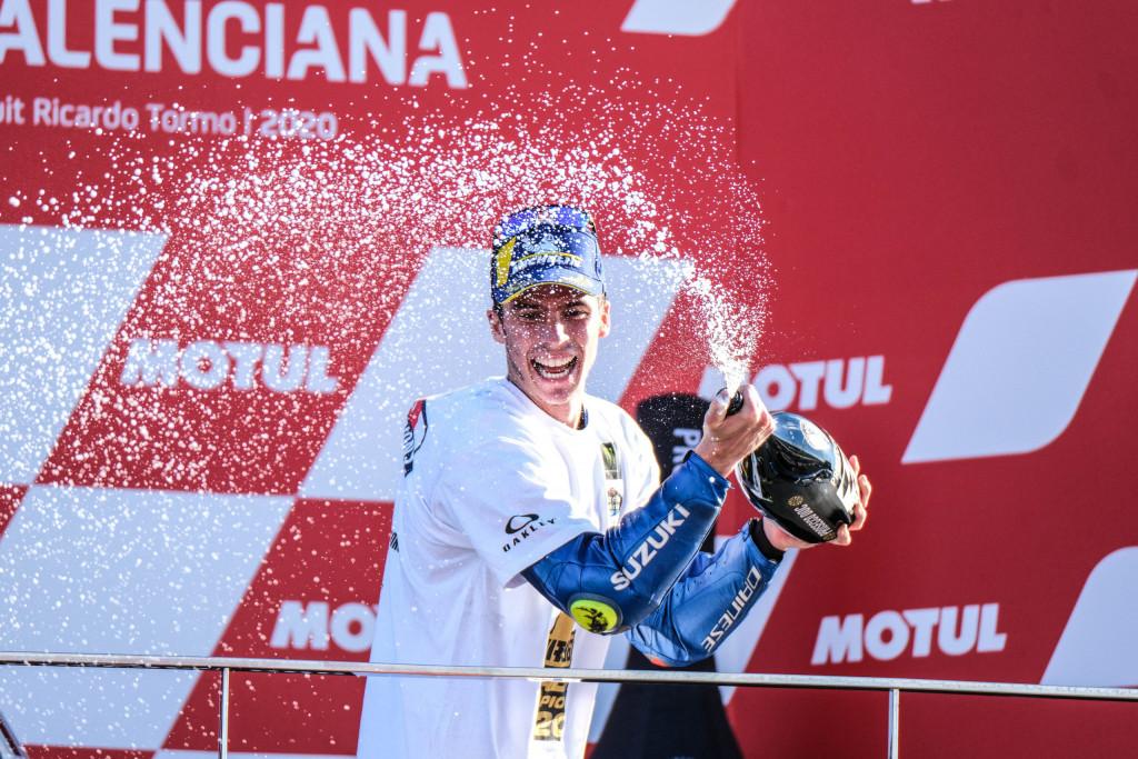Joan Mir se proclama campeón de MotoGP en el Circuit Ricardo Tormo