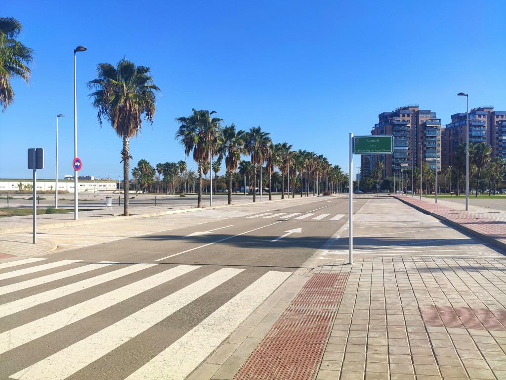 Mislata Zona nueva de aparcamiento