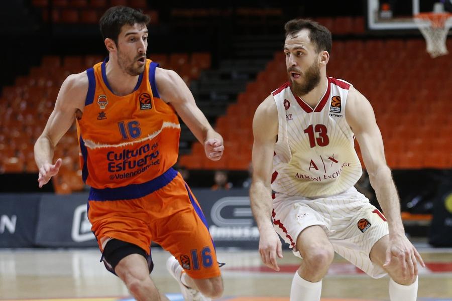Valencia Basket, a por el primer triunfo ante el AX Armani Exchange Milán en la Fonteta