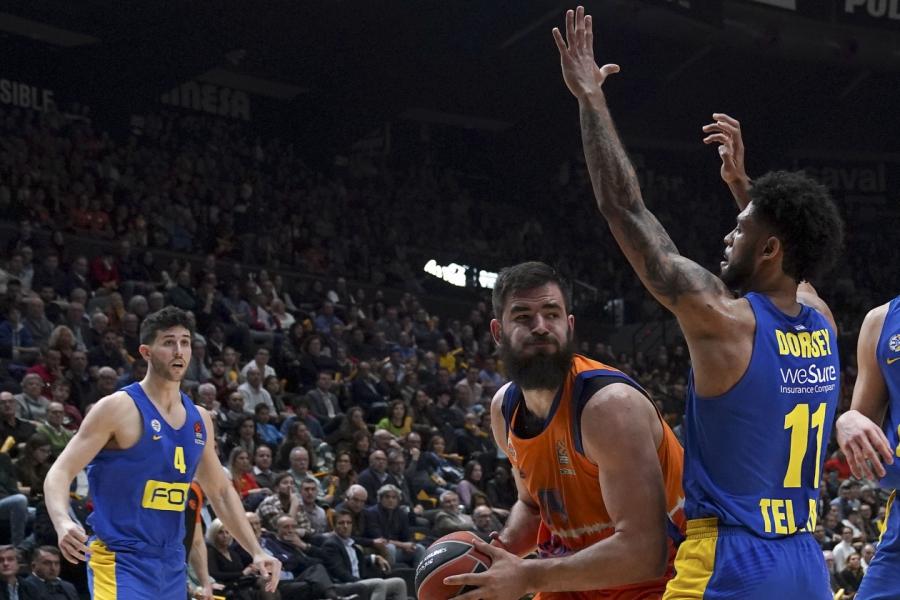 Valencia Basket, a por su mejor inicio histórico en la Euroliga ante el Maccabi Playtika Tel Aviv