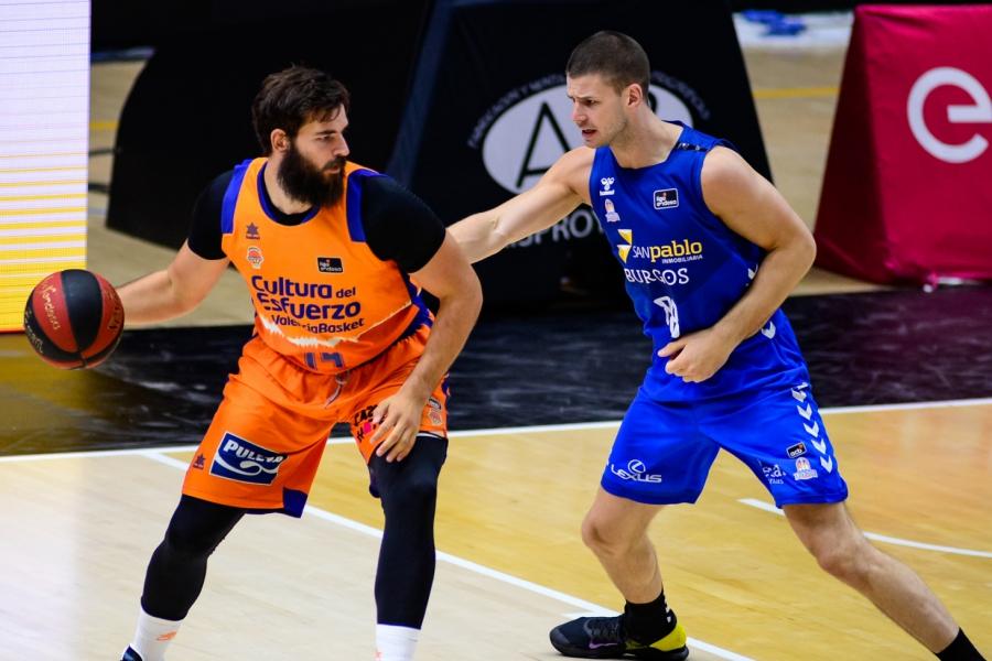 Valencia Basket repite en la Fonteta para recibir al Hereda San Pablo Burgos