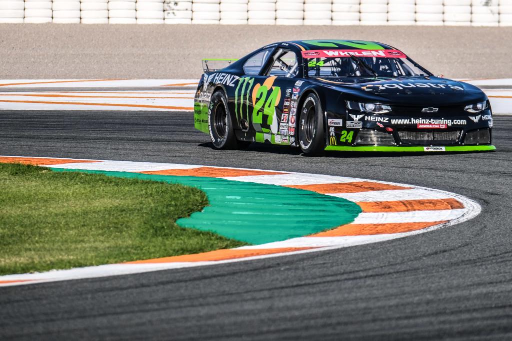 Alon Day saldrá desde la Pole en la lucha por el europeo de NASCAR en Cheste