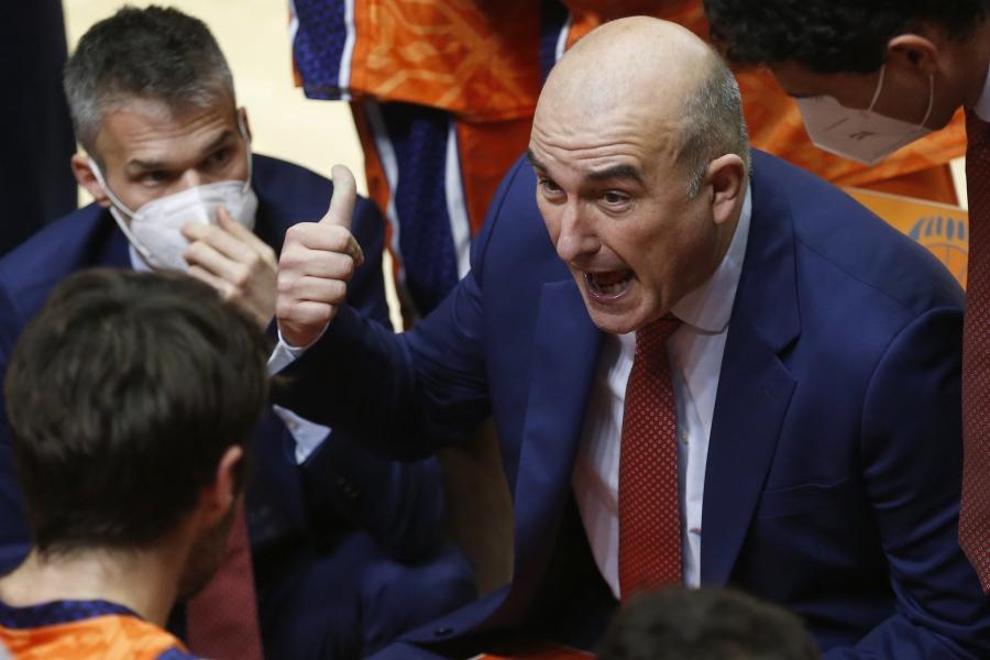 Declaraciones Jaume Ponsarnau post Valencia Basket- Anadolu Efes Istanbul
