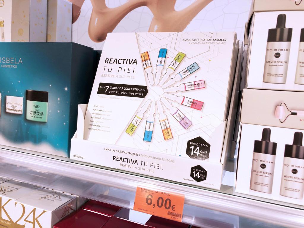 Mercadona lanza el tratamiento intensivo de belleza 'Reactiva tu piel' de 14 días de duración