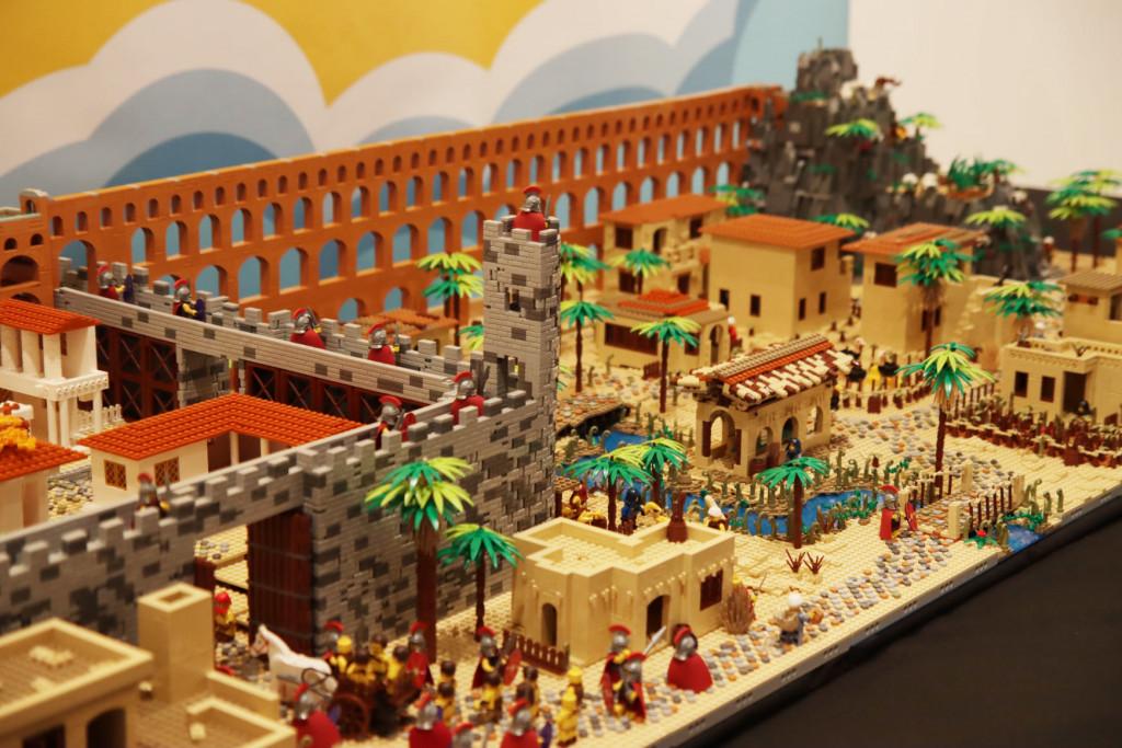 Exposicion Lego castillo alaquas