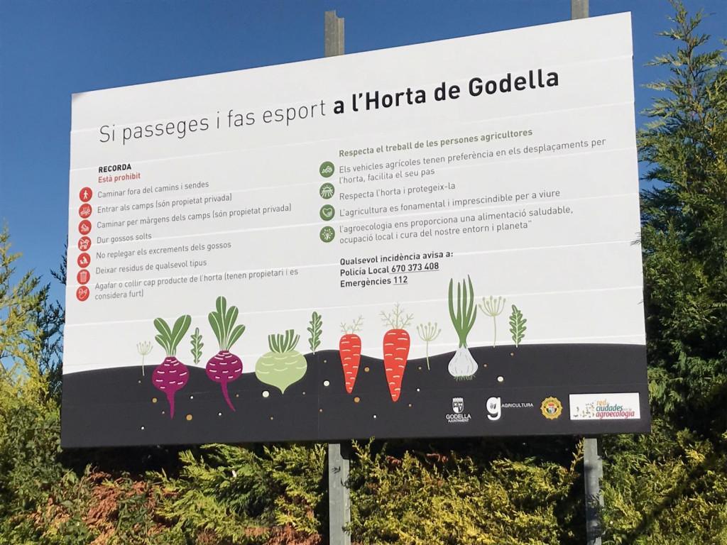cartel horta Godella