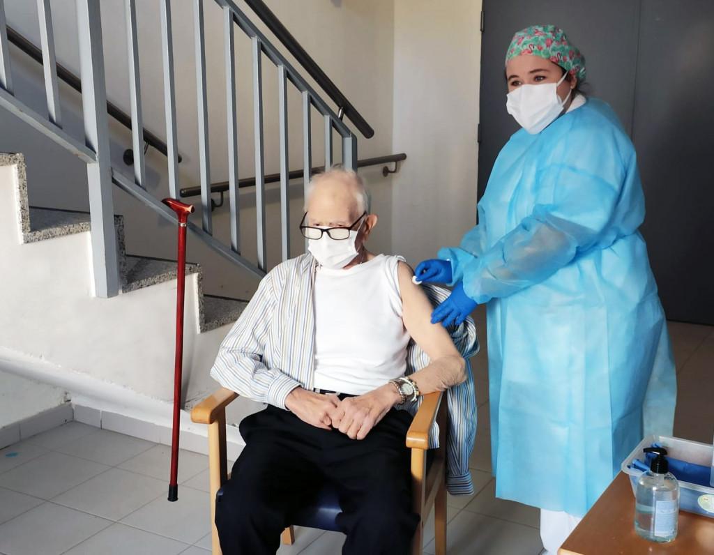 primer vacunado COVID batiste Rafelbunyol