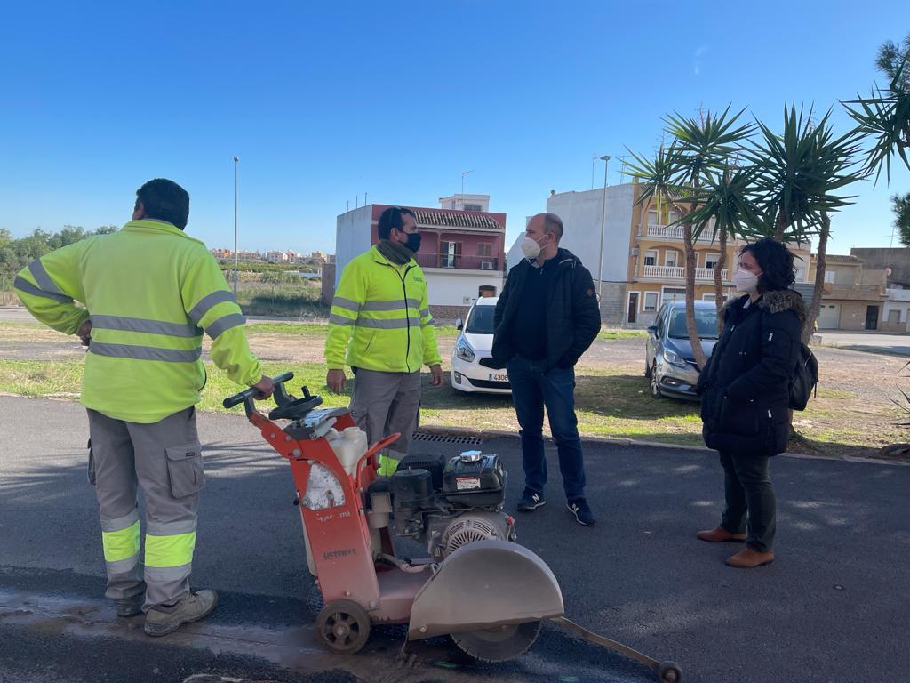 segunda fase obras calles Barrio Magdalena