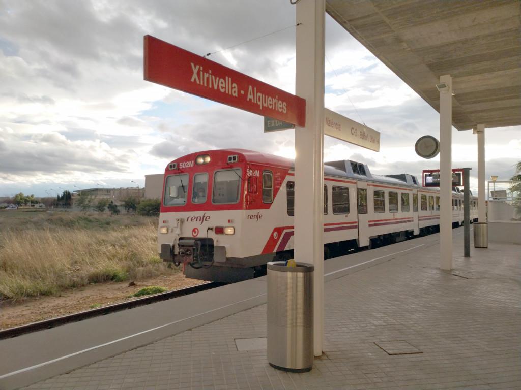 estación Xirivella línea C-3