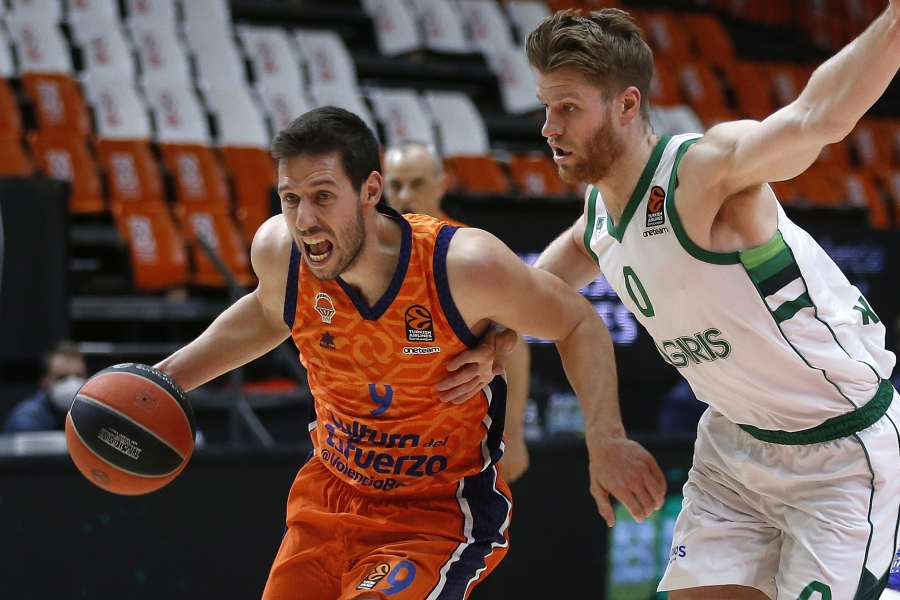 Derrota de Valencia Basket en el último segundo ante Zalgiris Kaunas (78-79)