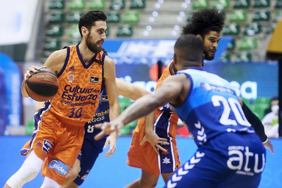 La novena seguida de Valencia Basket en Liga Endesa llega en Burgos (78-83)