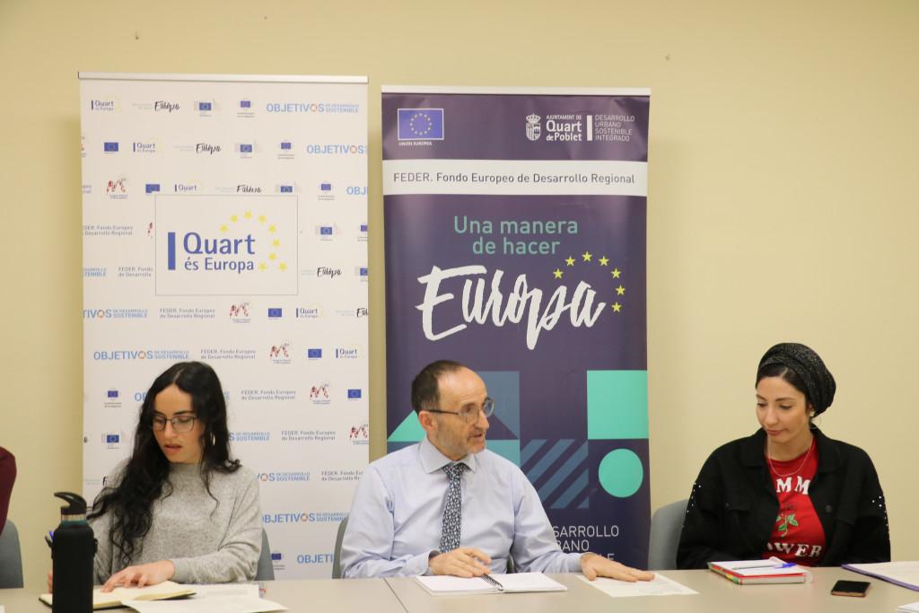 Quart de Poblet proyectos europeos
