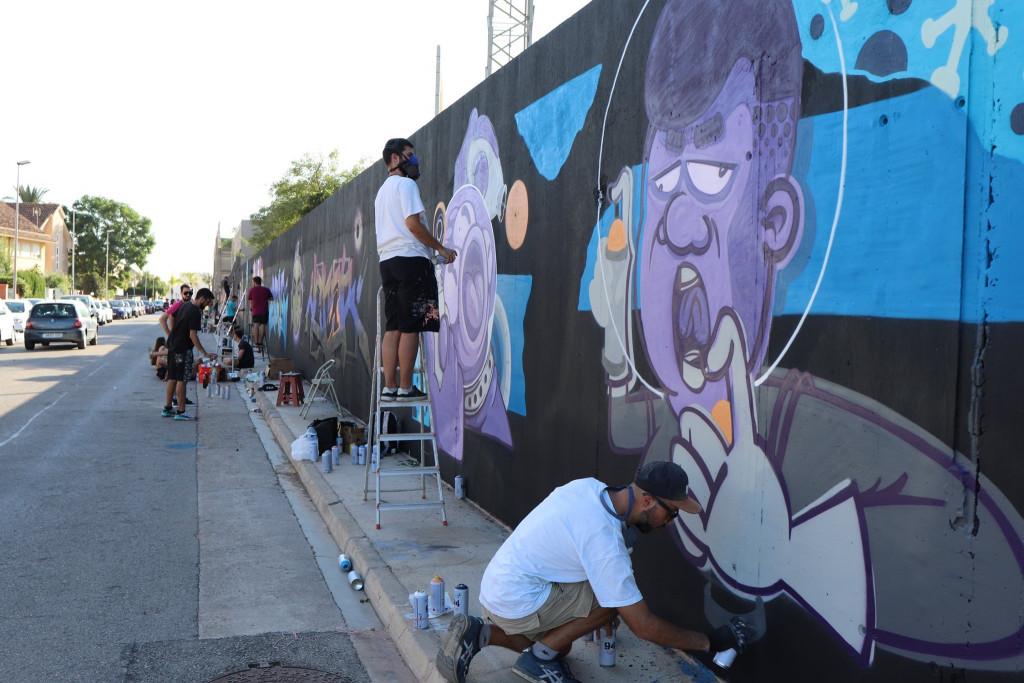 Rafelbunyol grafiti 2019
