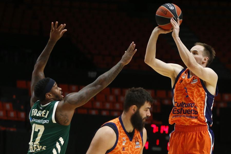 Valencia Basket busca recuperar sensaciones en Euroliga en su visita al Panathinaikos