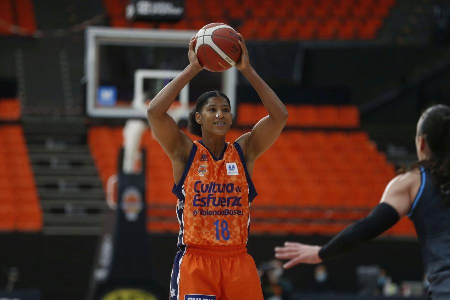 Valencia Basket estrena el 2021 en la Fonteta frente a Ciudad de La Laguna