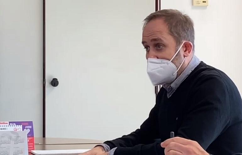 Aarón Cano, concejal de Protección Ciudadana del Ayuntamiento de València (foto de archivo).