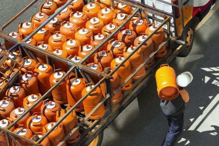 gas butano repartidor