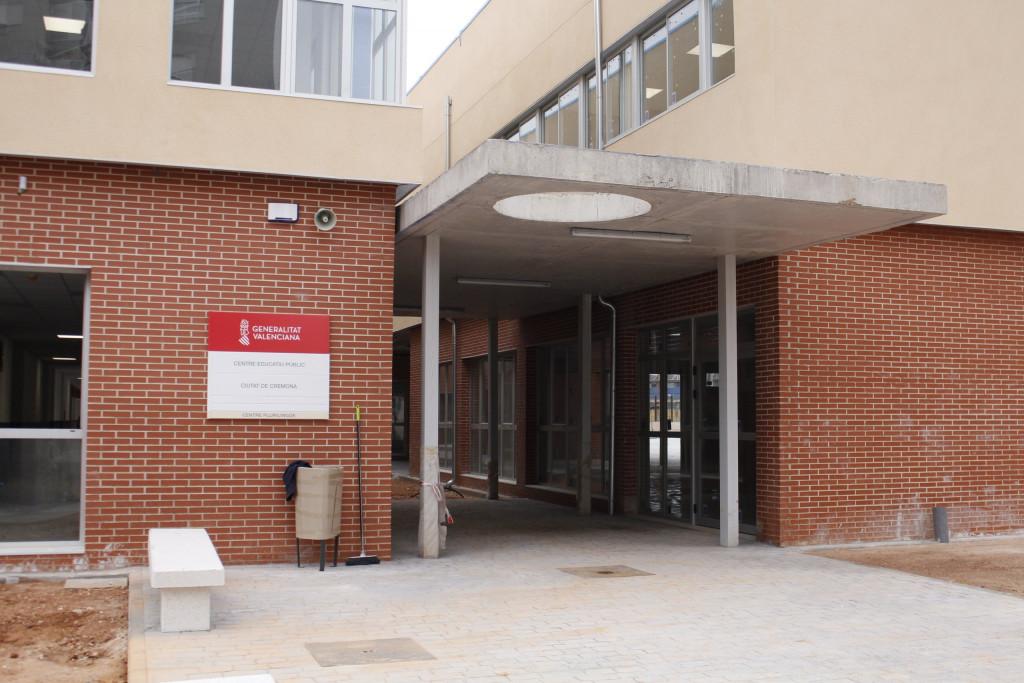 nuevo CEIP Ciutat de Cremona de Alaquàs