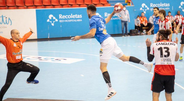 El Fertiberia salva un punto en el último segundo ante el Valladolid