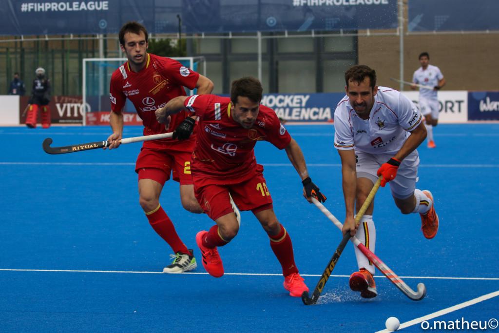 España vs Bélgica. FIH ProLeague