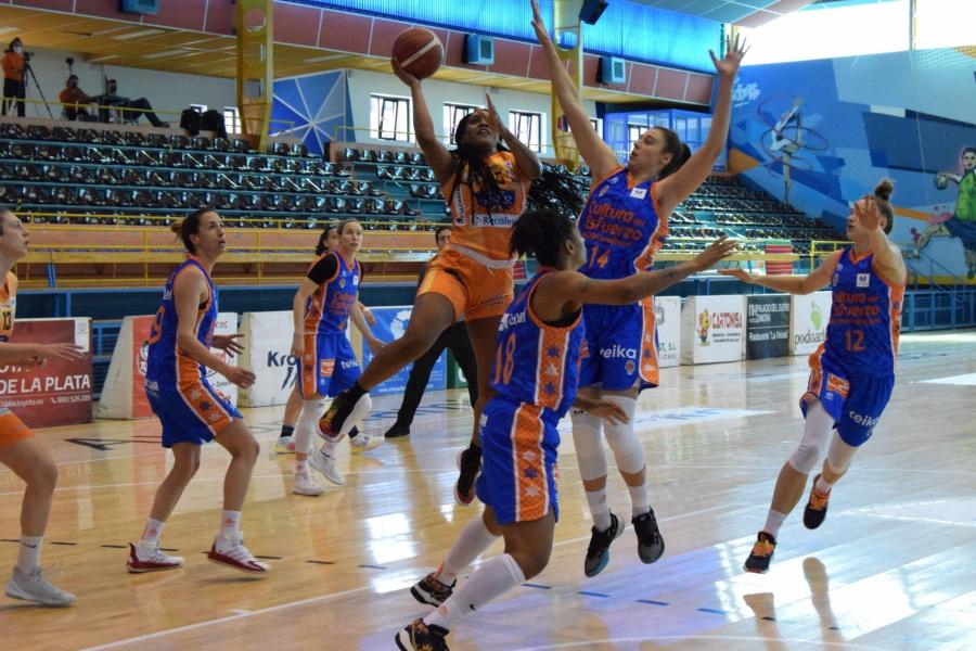 Festín coral de Valencia Basket antes de afrontar la Copa de la Reina (52-78)