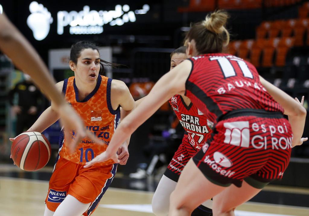 Leticia Romero ante Spar Girona