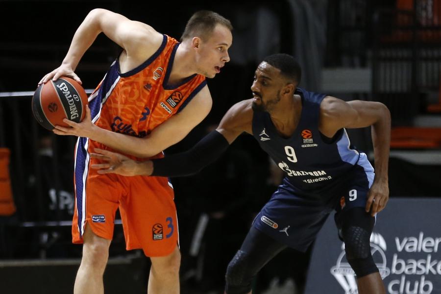 Valencia Basket abre su Supergira visitando la pista del Zenit St.Petersburg
