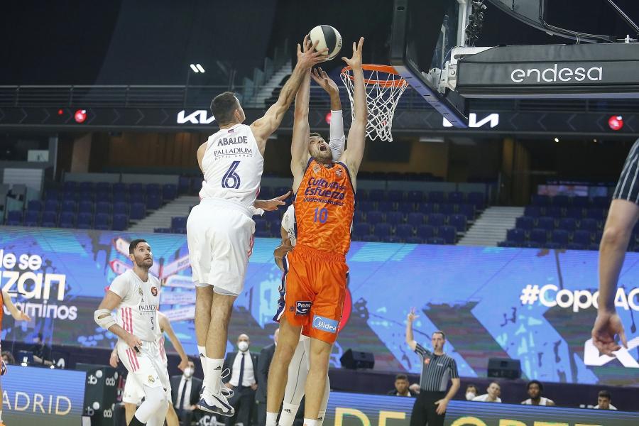 Valencia Basket cae en cuartos de final de la Copa del Rey ante el Real Madrid (85-74)