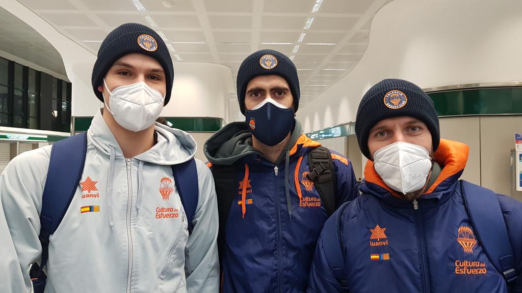 Valencia Basket listo para el frio y 13.200 km