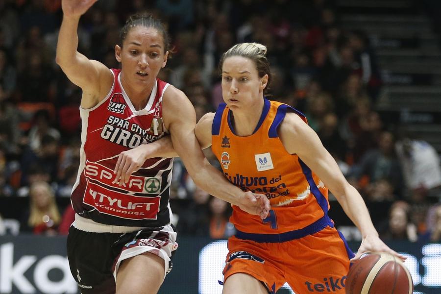 Valencia basket lucha por el segundo puesto frente a Spar Girona