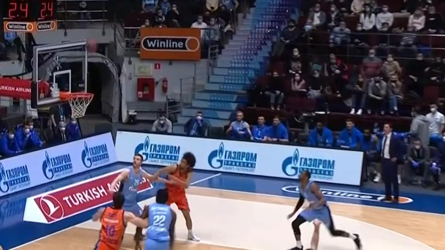 Zenith San Petersburg vs Valencia Basket
