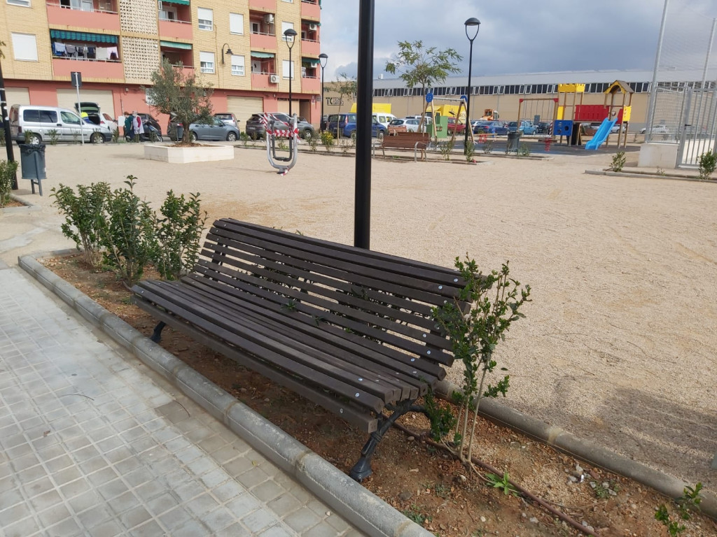 barrio del cristo mobiliario urbano