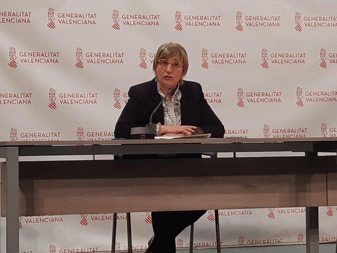 consellera Ana Barcelo nueva rueda prensa